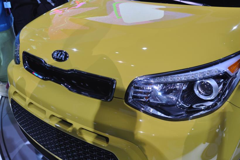 2014 Soul Front Grille