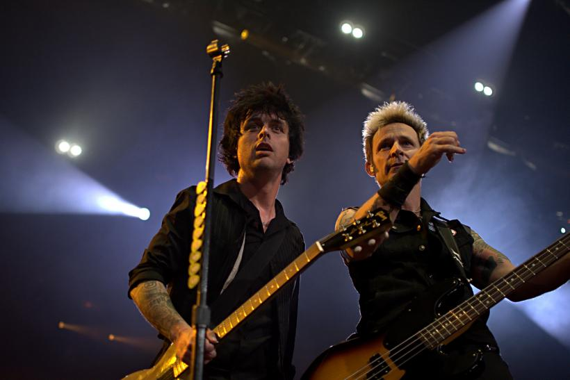 Billie Joe Armstrong and Mike Dirnt