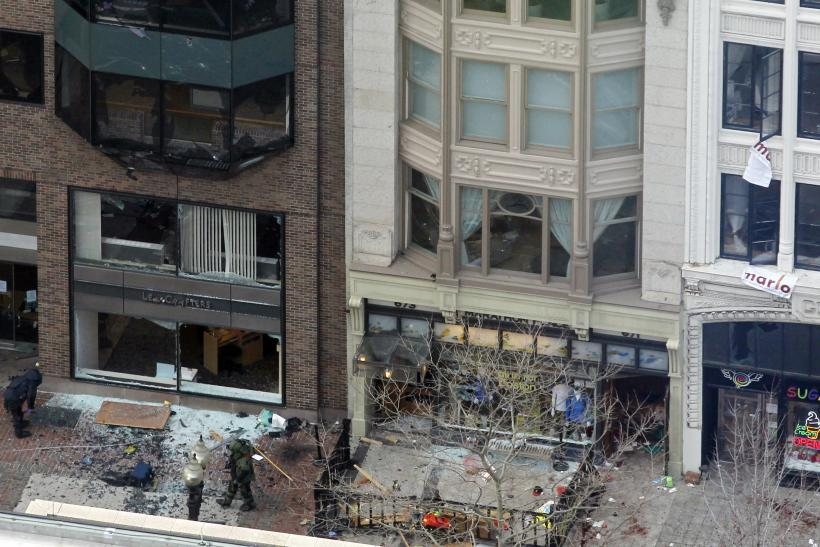 Boston Marathon Bombing Site