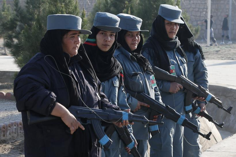 Afghanistan Female Police 2013