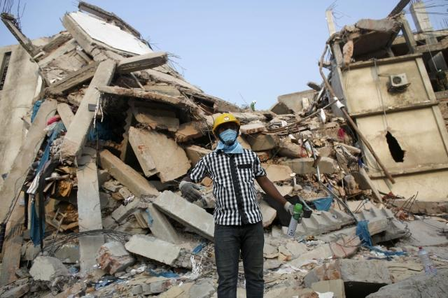 Garment factory collapse