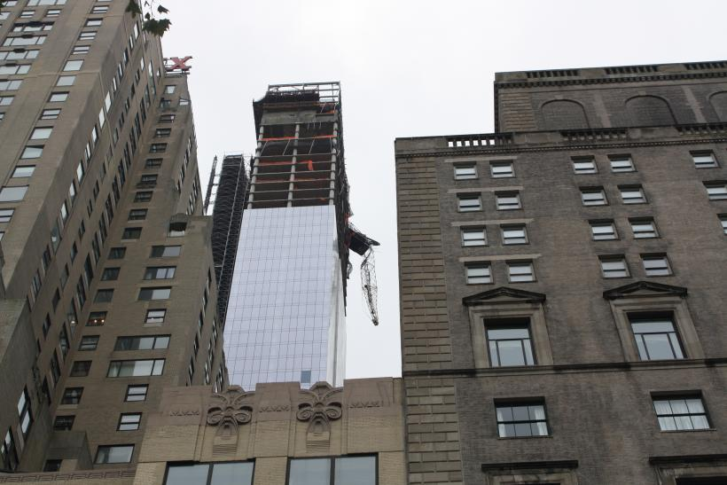 Midtown Crane Collapse Before