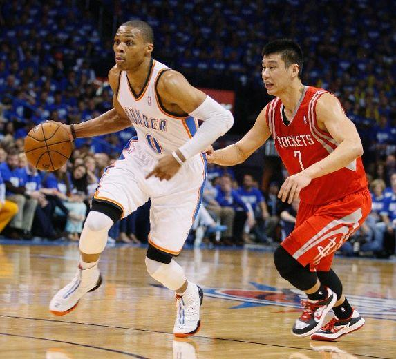Jeremy Lin Russell Westbrook