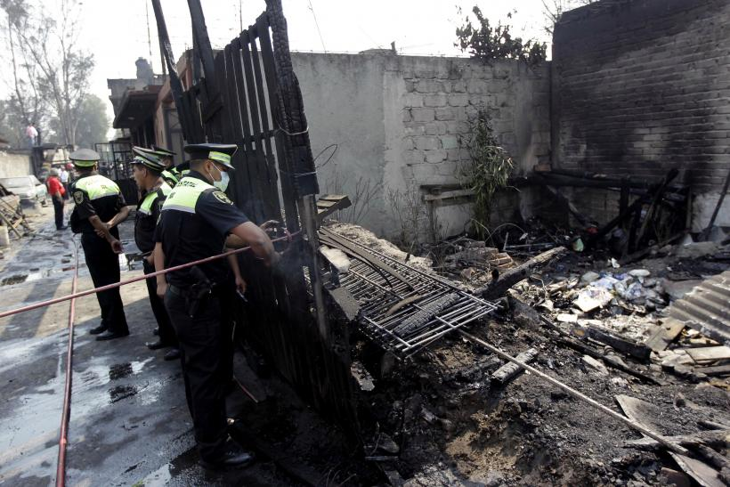 Man blows up home over picnic snub