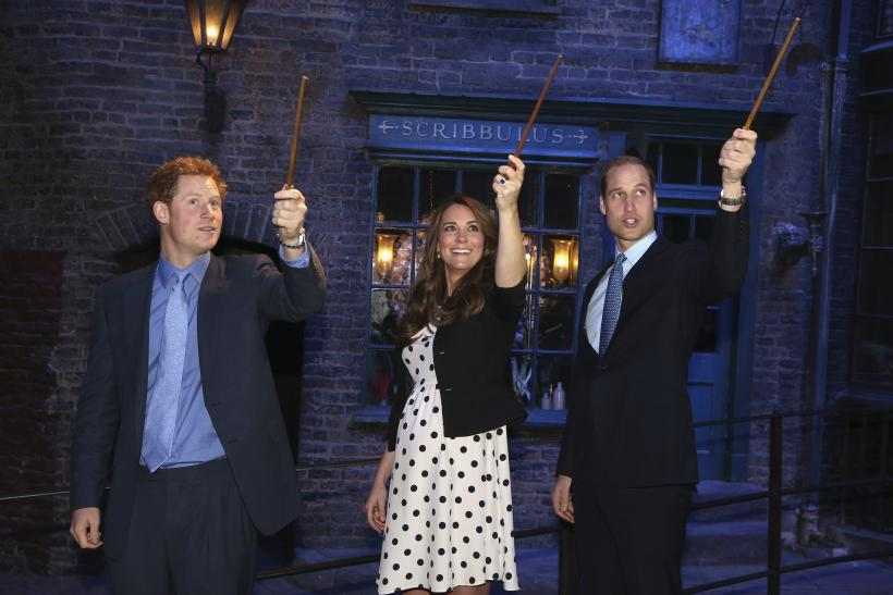 Middleton And Princes Harry And William