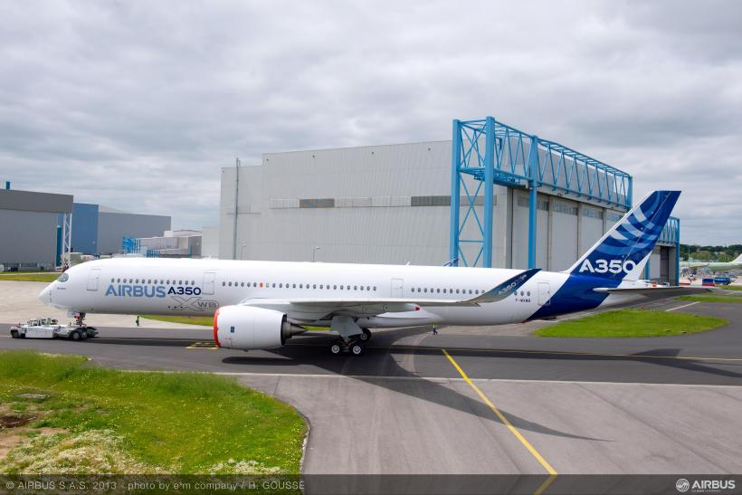 A350 Side View