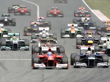 Formuals One Racing Cars