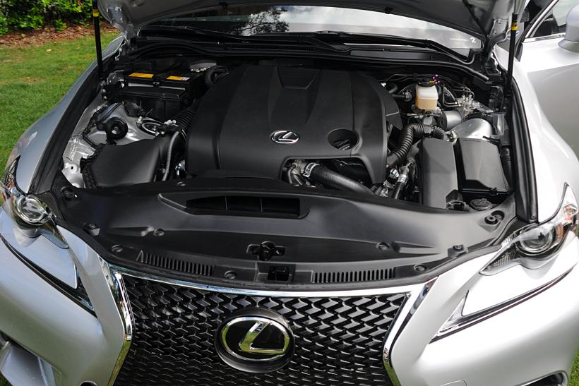 2014 Lexus IS Engine