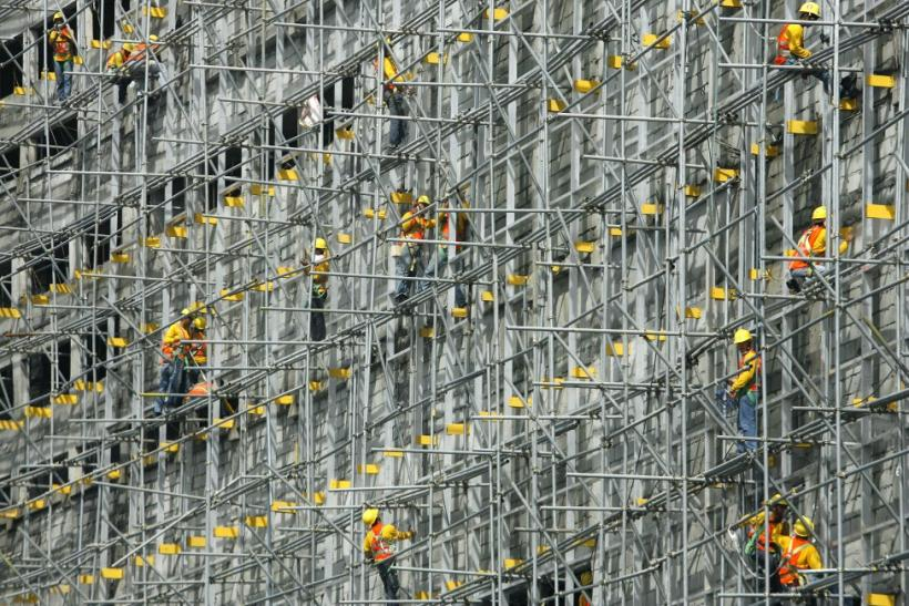 Philippines construction workers