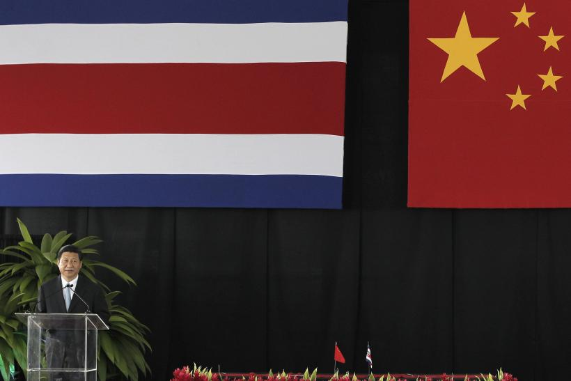 President of China Xi in Costa Rica