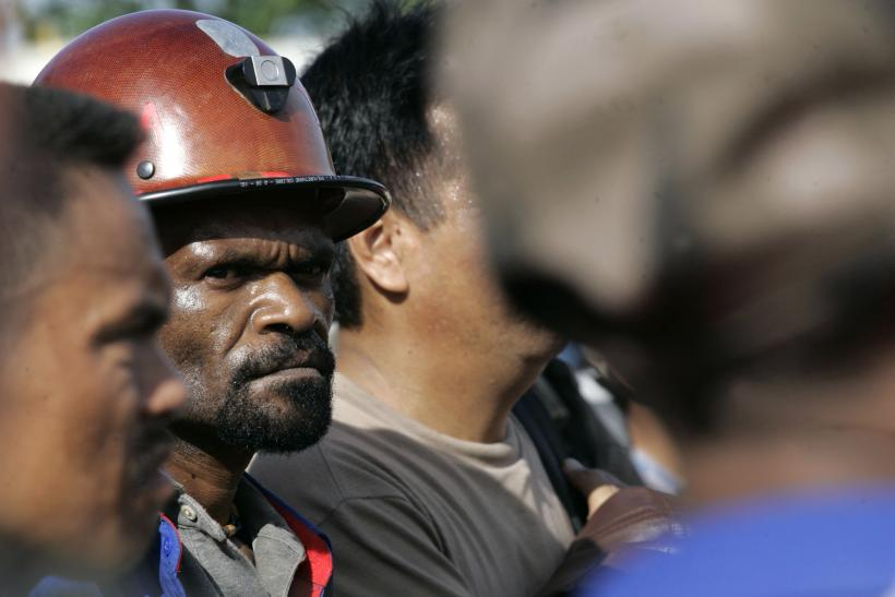 Freeport McMoran Copper & Gold Inc's workers in Indonesia