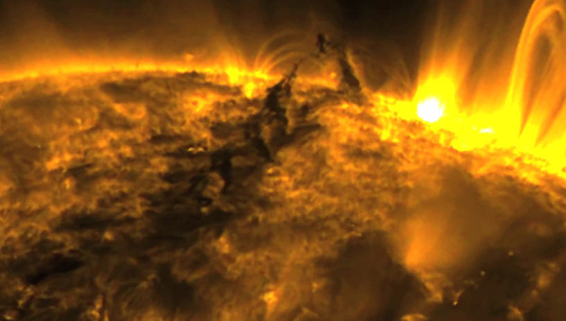 sun tornado captured by nasa - photo #7