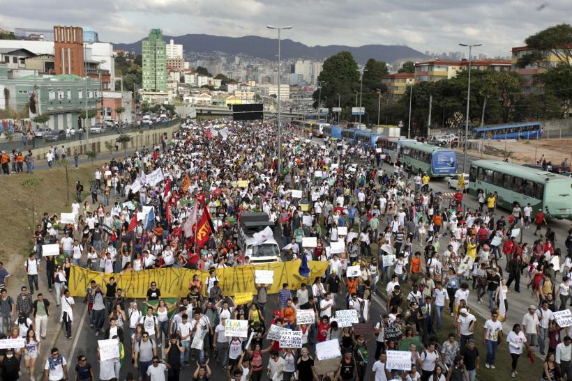 Brazil Protests Belo Horizonte