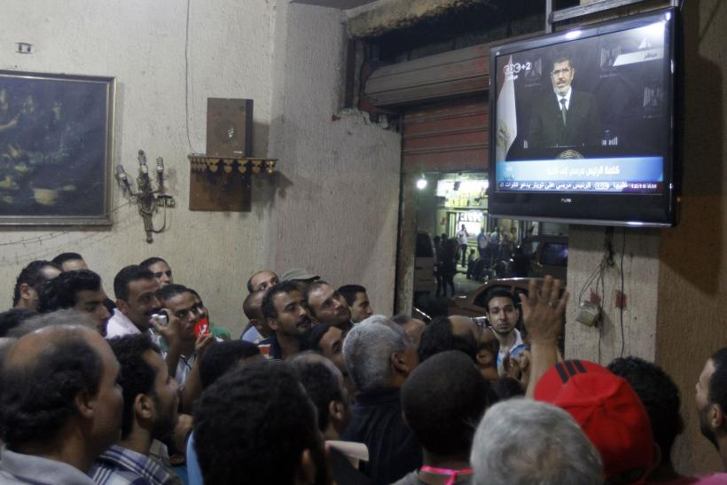 Protesters Tv Egypt