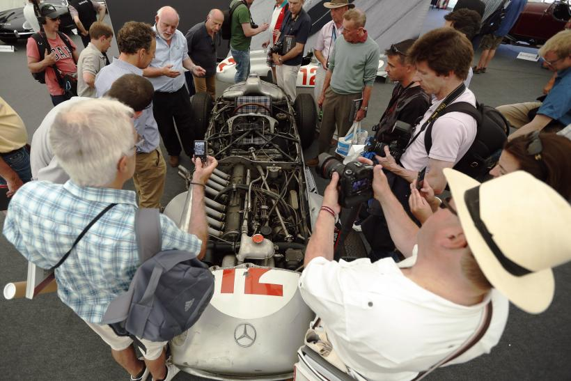 1954 Mercedes-Benz Formula 1 W196R Engine