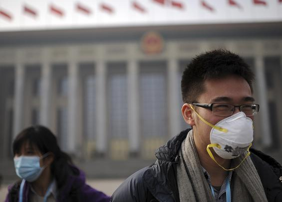 China Pollution Beijing March 2013 2