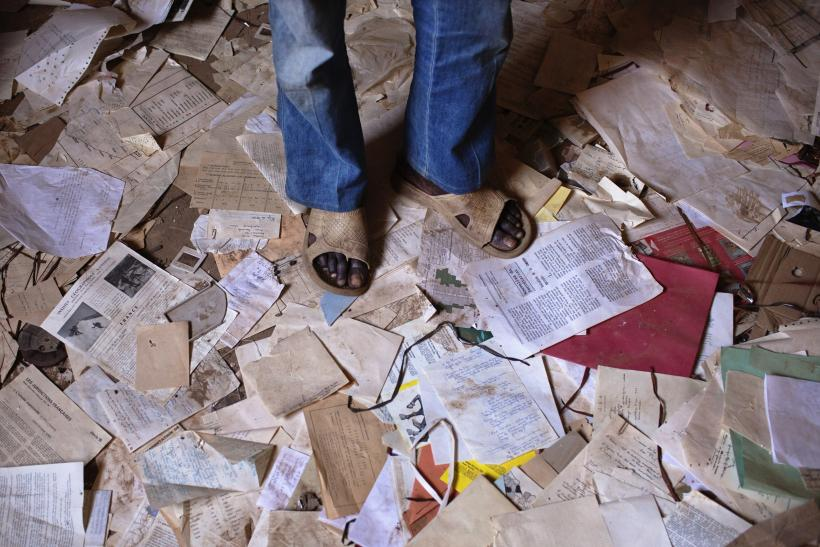 Papers Strewn in Africa