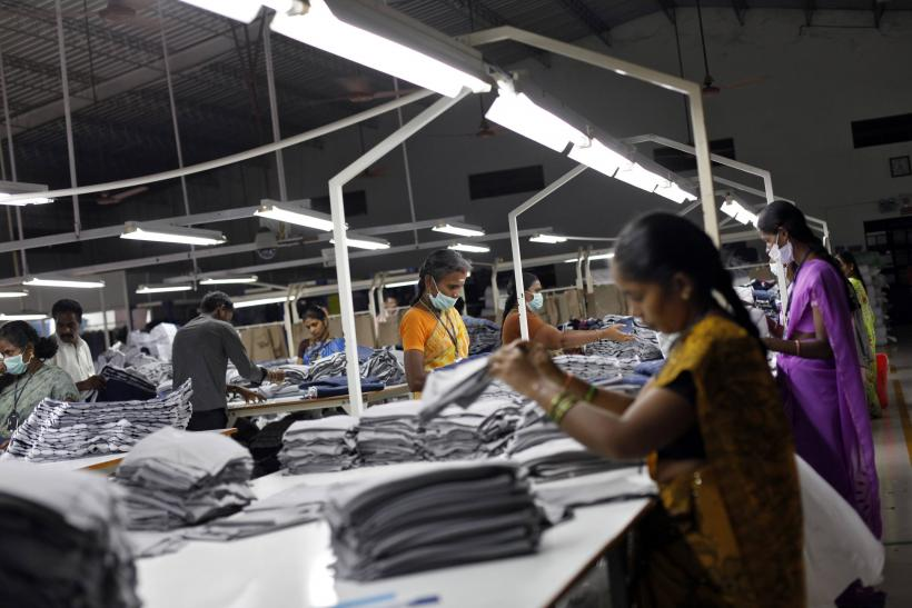 India garment factory