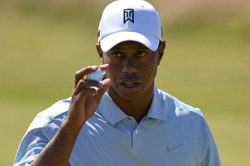 Tiger Woods 3rd Round Open Championship 2013