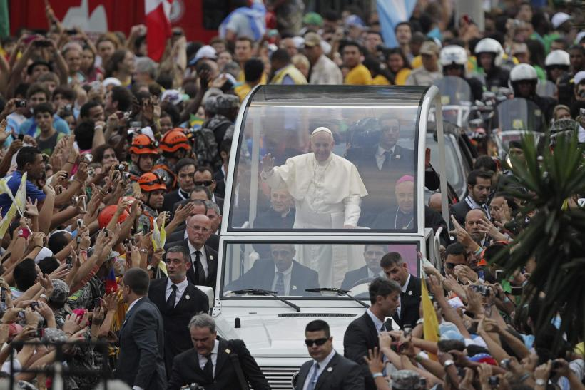 Pope Francis in Rio
