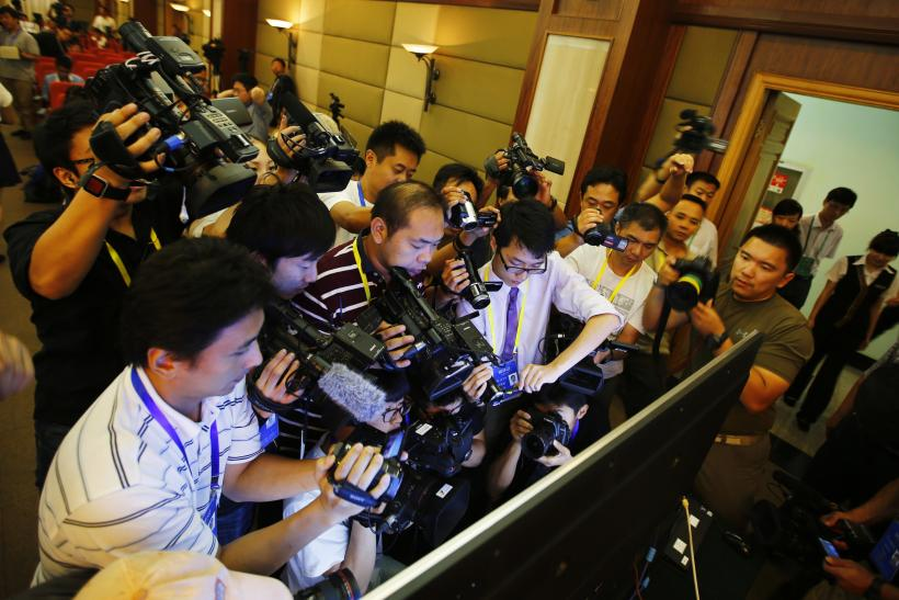 Journalists covering Bo Xilai