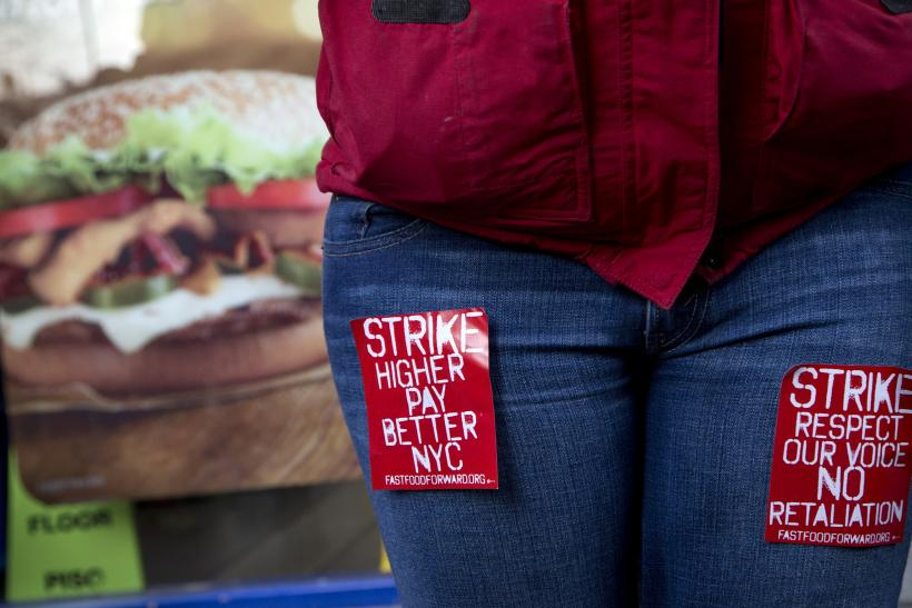 Fast-food Workers' Strike_US