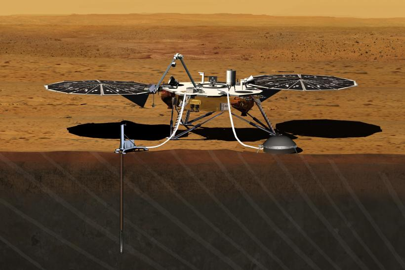 NASA Targets 4 Potential Landing Sites For 2016 InSight ...