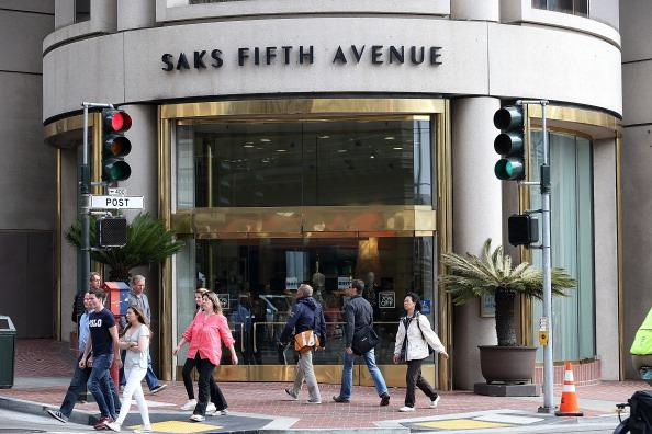 Saks store Getty Image 2013