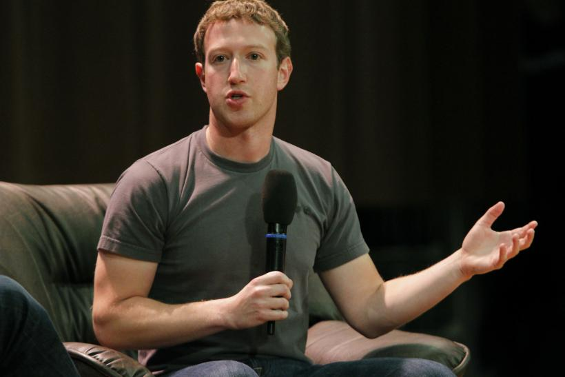 Facebook Zuckerberg Mark 2012