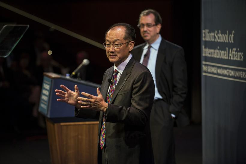 The World Bank lowered its forecasts for East Asia's developing nations.