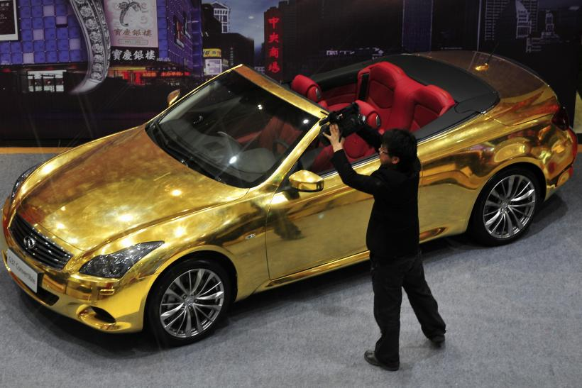 Gold car China