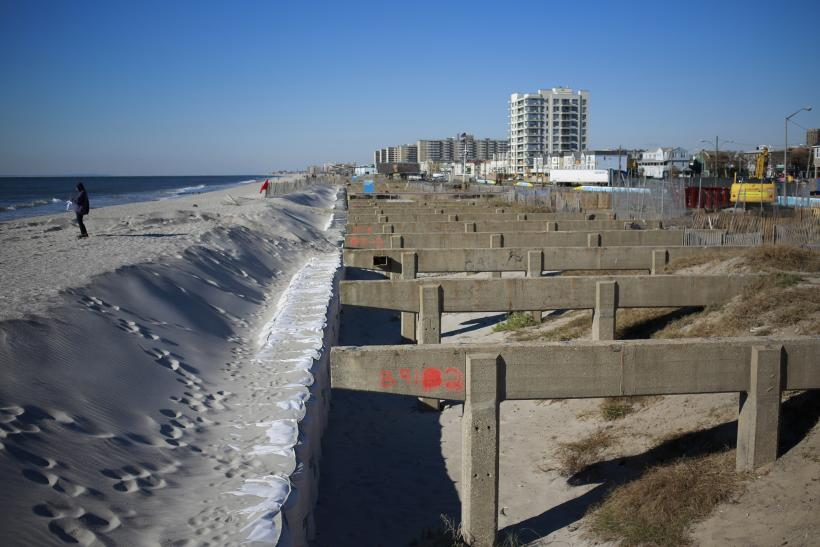 Rockaway Beach After Hurricane Sandy