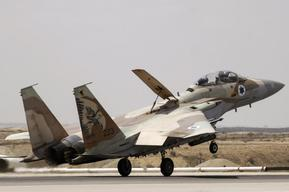 Israeli Warplanes Attack Syrian Military Target