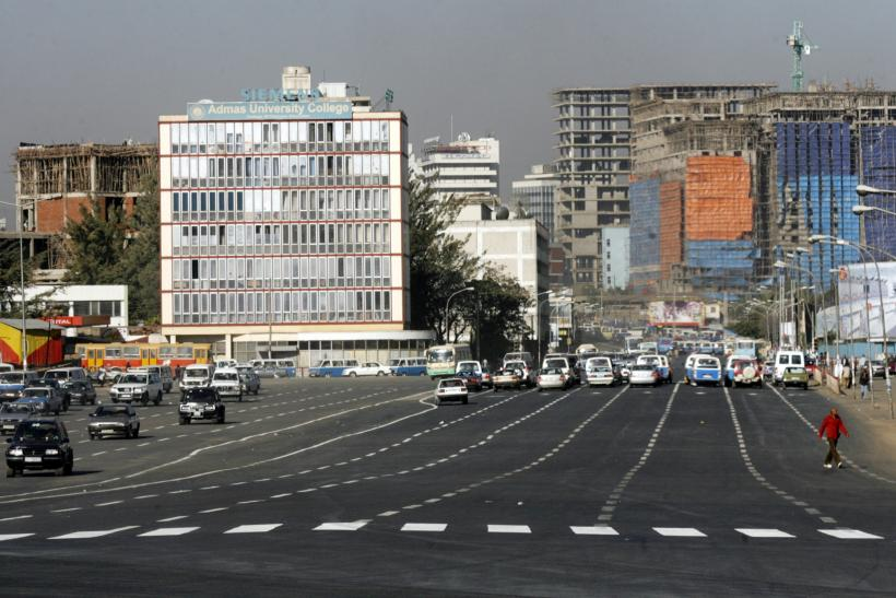 Construction in Addis Ababa