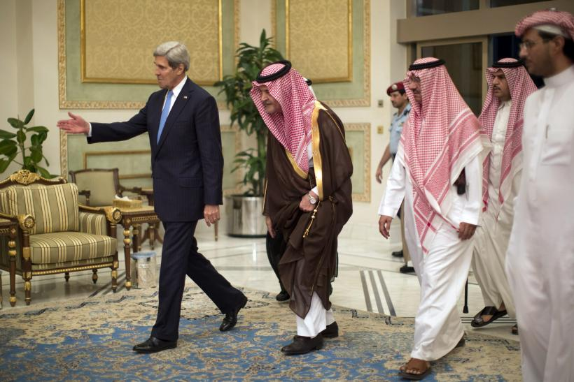 Kerry in Riyadh