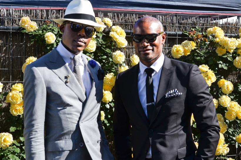 Tyson Beckford Melbourne Cup