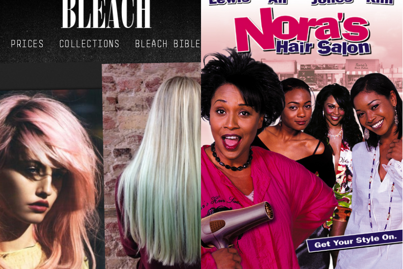 bleach london vs nora's hair salon