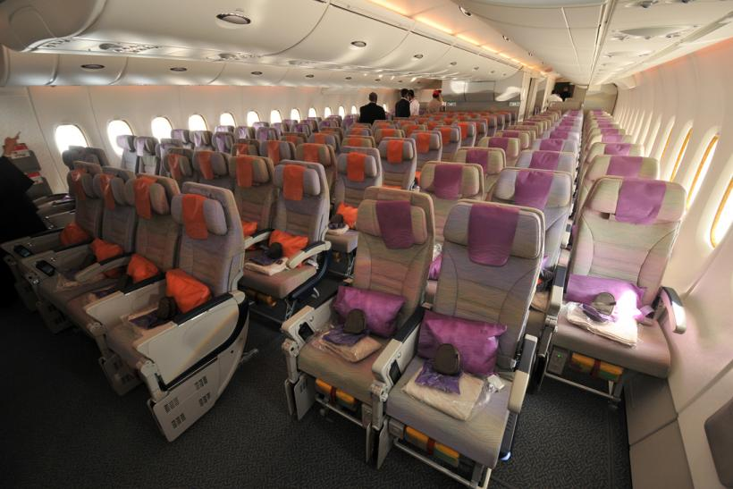 Airbus A380 economy class