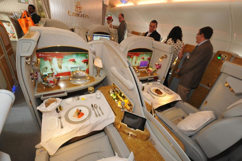 Emirates Airbus A380 first class C