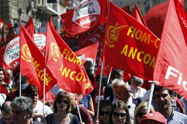 Italians protest austerity and high unemployment