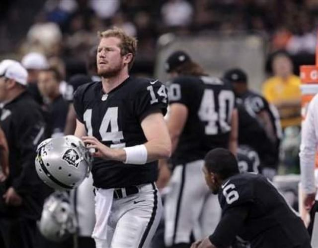 Matt McGloin Oakland Raiders