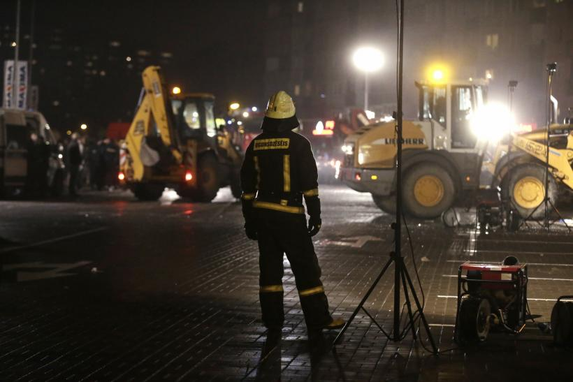 Latvia Supermarket Collapse: Deaths rise as rescue continues
