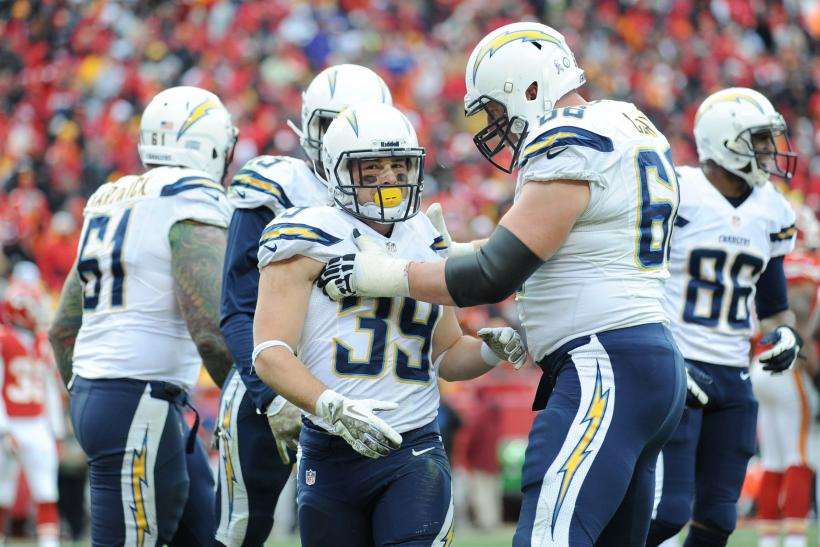 Danny Woodhead San Diego Chargers