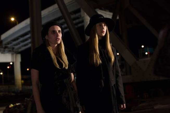 Emma Roberts And Taissa Farmiga: 'American Horror Story' Season 3 Spoilers: Chilling Photos