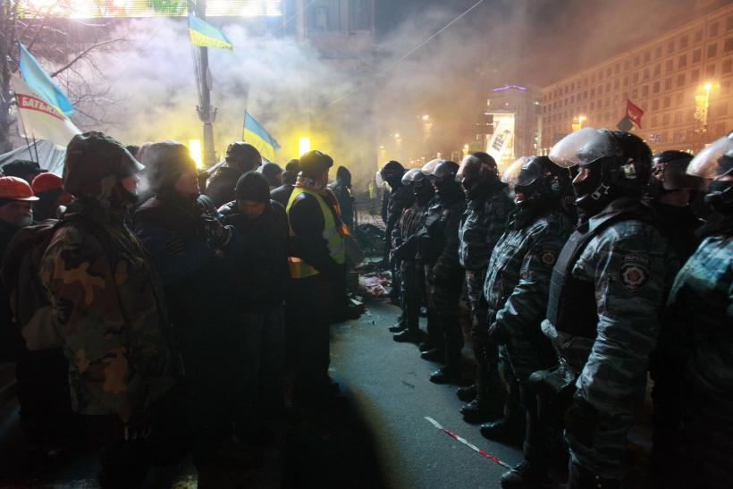 Kiev Ukraine showdown