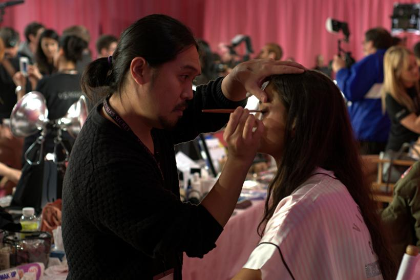 Backstage Beauty Victoria's Secret Fashion Show 2013