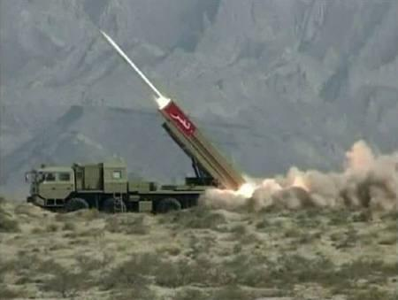 Pakistani missile capable of carrying nuclear warhead