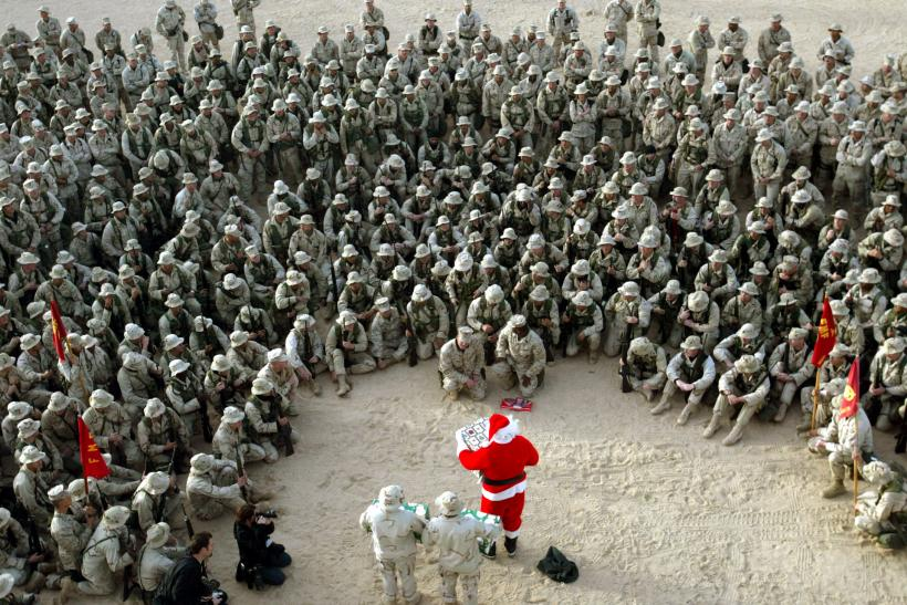 Don't Say 'Christmas:' Army