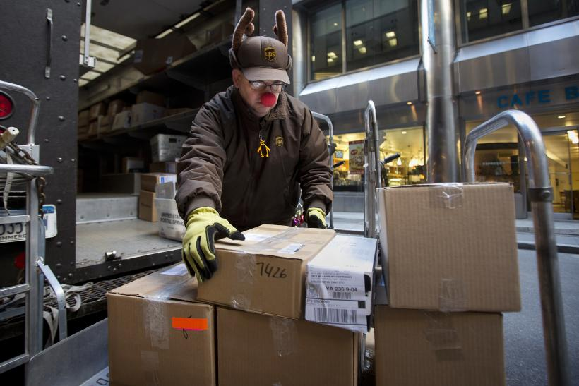 UPS Christmas Shipping Overload