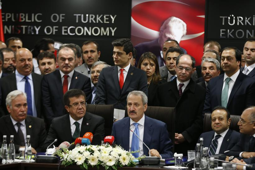 Turkey's outgoing Economy Minister Zafer Caglayan